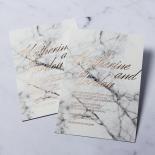 Marble Minimalist Invitation Card Design