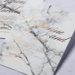 Marble Minimalist Invitation Design
