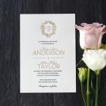 Modern Crest Invitation