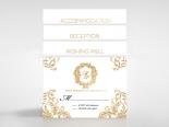 Modern Crest Invitation Design