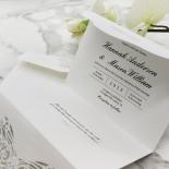 Modern Vintage Wedding Invite