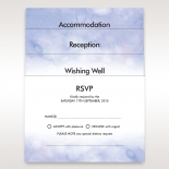 White and purple watercolour bridal accessory cards