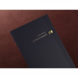 Crystal designed announcement wedding invitation with folded insert