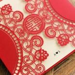 Oriental Charm Wedding Invite Card
