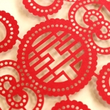 Oriental Charm Card Design
