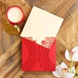 Oriental Charm Invite Card