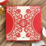 Oriental Charm Invitation Card Design