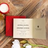 Oriental Charm Wedding Invitation Card