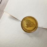 Prosperous Golden Pocket Card Design