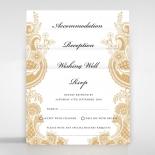 Prosperous Golden Pocket Wedding Invite Design