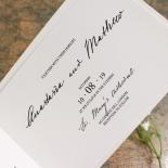 Pure Charm Invitation Design
