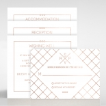 Quilted Grace Wedding Card