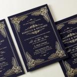 Regal Frame Invite Design