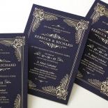 Regal Frame Stunning invitation card