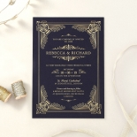 Regal Frame Wedding Invitation