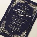 Regal Frame Stationery invite