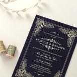 Regal Frame Stationery card