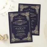 Regal Frame Stationery card design