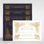 Regal Frame Wedding Invitation Card