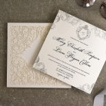 Regally Romantic Wedding Invite