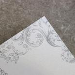 Regally Romantic Wedding Invitation Card