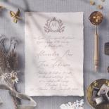 Royal Crest Wedding Invite Card Design