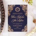 Royal Embrace Wedding Invite Card
