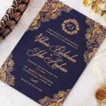 Royal Embrace Stunning invitation card