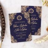 Royal Embrace Wedding Invitation