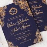 Royal Embrace Wedding Invitation Card