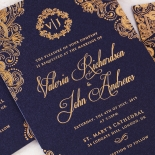 Royal Embrace Wedding Card