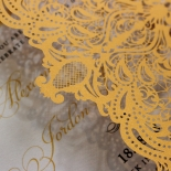 Royal Lace Stunning invitation card
