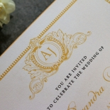 Royal Lace Stationery invite