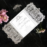 Royal Lace with Foil Stationery design