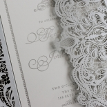 Royal Lace with Foil Design
