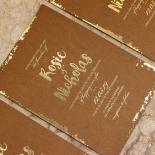 Rusted Charm Wedding Card Design