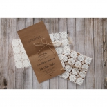 Rustic Wedding Invite Card