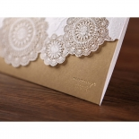 Rustic Charm Wedding Invite Card Design