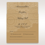 Lace designed nuptials accessory cards