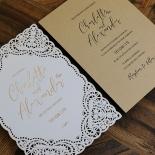 Rustic Elegance Wedding Invite