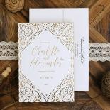 Rustic Elegance Wedding Card