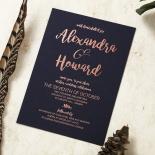 Rustic Lustre Invite Card Design