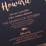 Rustic Lustre Wedding Invite Design
