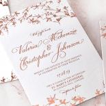 Secret Garden Wedding Invite Card