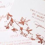 Secret Garden Invite Card Design