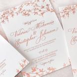 Secret Garden Wedding Invite Card Design