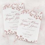 Secret Garden Wedding Invite Design