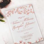 Secret Garden Invitation Card Design