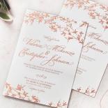 Secret Garden Wedding Invitation Design
