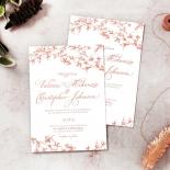Secret Garden Wedding Invitation Card Design